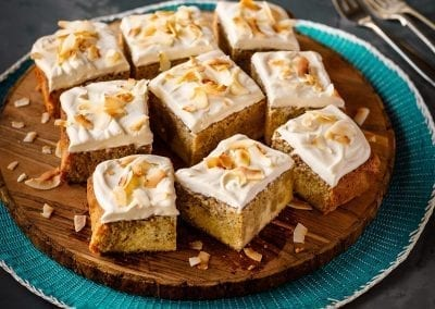 Arctic Coffee Soaked Tres Leches Cake