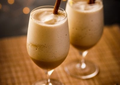 Arctic Hummer Iced Coffee Cocktail