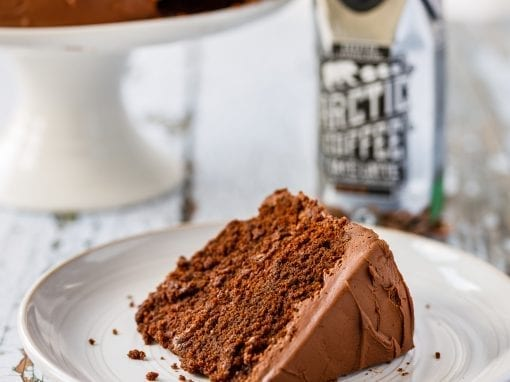 Spring Mocha Fudge Cake