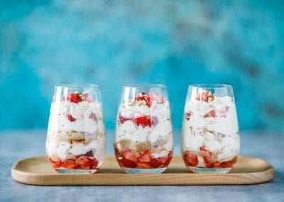 Coffee & Hazelnut Eton Mess