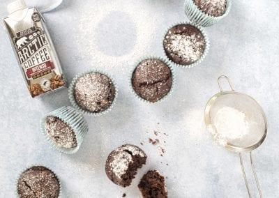 Double Chocolate Espresso Muffins