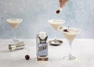 White Chocolate Coffee Martini